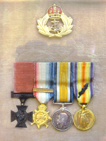 photo of Uncle Georgie's Medals