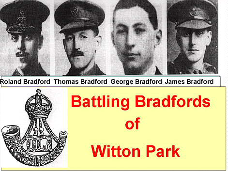 4 x Pic Collage _ The Battling Bradford's of Witton Park
