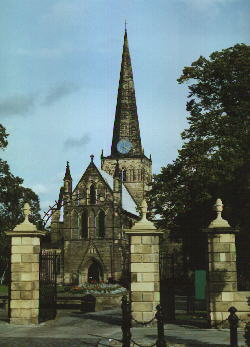 pic of St Cuthbert's Church, Darlington, County Durham