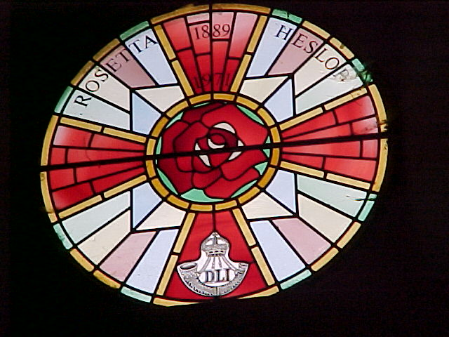 Dale Daniel's pic of the Rose Window at St Paul's Church, Witton Park