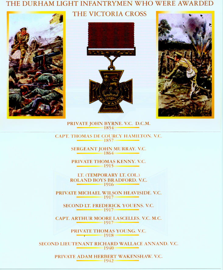 Illustrated List of the D. L. Infantrymen who were awarded the V.C.